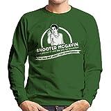 Happy Gilmore Shooter McGavin Breakfast Quote Men's Sweatshirt