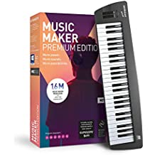 MAGIX Music Maker - 2019 Control Edition - More than just a keyboard.|Standard|1 Device|Limitless|PC|Disc