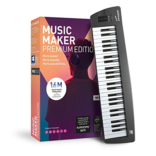 MAGIX Software Music Maker - 2019 Control Edition - Mehr als nur ein Keyboard