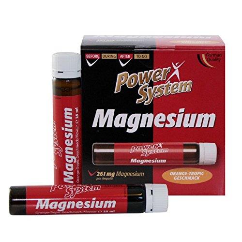 Power System Magnesium + Vitamin C Liquid 20X25ml Ampullen Orange-Tropic - Power Magnesium
