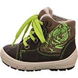 Superfit 1-00310 Groovy - botas de nieve de cuero niñas goretex, größen kinder:22 EU;Farbe:Gris