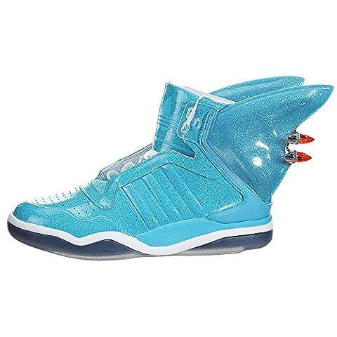 Adidas Jeremy Scott JS Shark Fin Sneaker Turnschuhe Trainers Schuhe blau Unisex
