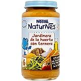 Nestlé Naturnes Jardinera de La Huerta con Ternera a Partir de 6 Meses - 250 g