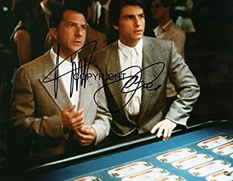 Limited Edition Tom Cruise Regen Man unterzeichnet Foto Autogramm signiertsigniertes
