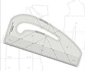 KABEER ART Pattern Marking Ruler- Hard Plastic
