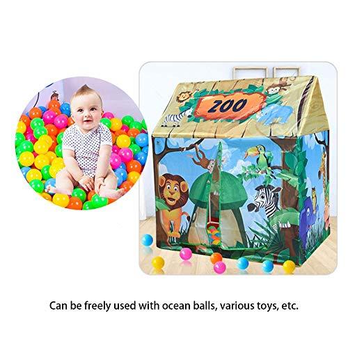 Kinder spielen Zelt, Kinderbabyspielhaus-Ausrüstungen Spielhaus-Ball-Zelt für Mädchen Jungen, Spiel-Zelt/Spielhaus / Höhle, Spielwaren u. Geschenke - Baby-mädchen-spiel-yard