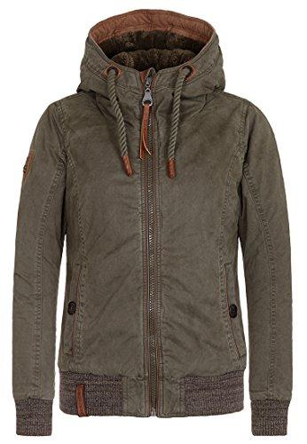 Naketano Female Jacket Rülpsen, Schmatzen, Furzen III Olive, XS