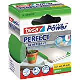 tesa 56343-00039-03, tesa Gewebeband, extra Power Perfect, grün, 2,75m x 38mm