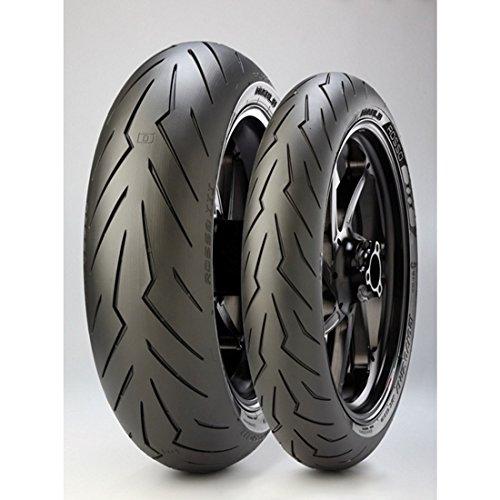Preisvergleich Produktbild Pirelli Diablo Rosso III Paar 120/70ZR17190/50ZR17