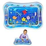 Estera de agua inflable boca abajo, Colchoneta de juego de agua para bebés Infantiles de juguete para niños pequeños Centro de actividades divertidas Cojín para niños con tema temático