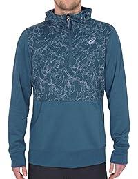 c7e48ac151138 Asics - Sweat-Shirt à Capuche - Homme Bleu Bleu