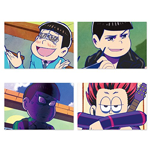 osomatsu-san-funny-face-post-card-set-vol1-a-japan-new-from-japan-new