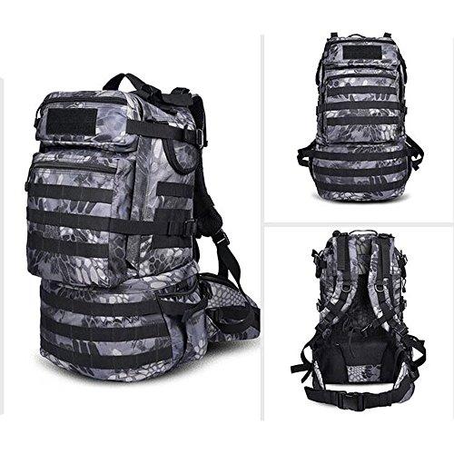 Busta esterna alpinismo borsa borsa a tracolla e borsa da viaggio zaino borsa per computer capacità: 45L Q W