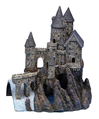 Penn-Plax Castle Aquarium-Dekoration, handbemalt, mit realistischen Details, über 36,8 cm hoch Teil B