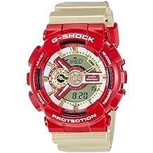 Casio Malla Me Up G SHOCK Cuarzo: Batería JAPAN Reloj (Modelo de Asia) GA-110CS-4A