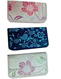 WARIS BAG Women's Clutches Pack Of 3 (WSG-10_Multi)