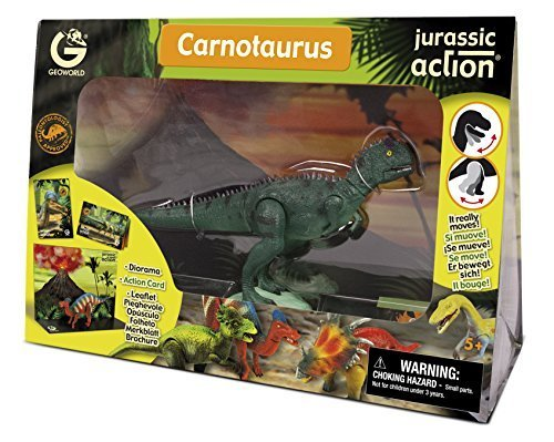 Jurassic Action- Carnotaurus Figurine by Geoworld