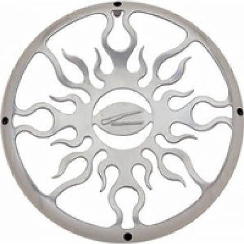 Audiobahn AFG10C, 25cm Chrome Flame Grill, 1 Stück (Audiobahn Auto Subwoofers)