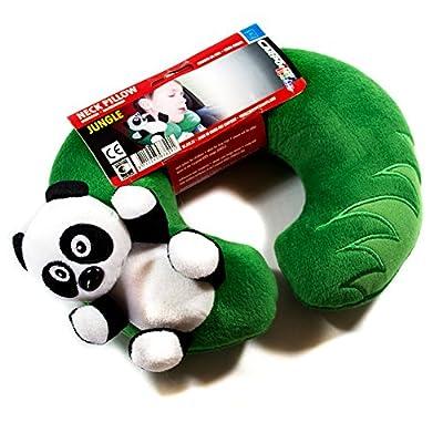 Carpoint Kids Kollektion Nackenkissen Model Panda aus der Jungle Serie. Nackenhörnchen, Nackenstütze