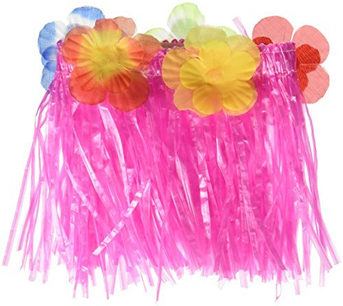 Hawaiian Girl w/Flower Lei Outfit Fits Most 14 - 18 Build-a-bear, Vermont Teddy Bears, and Make Your Own Stuffed Animals by Stuffems Toy Shop (Flower Teddy Bear Girl)