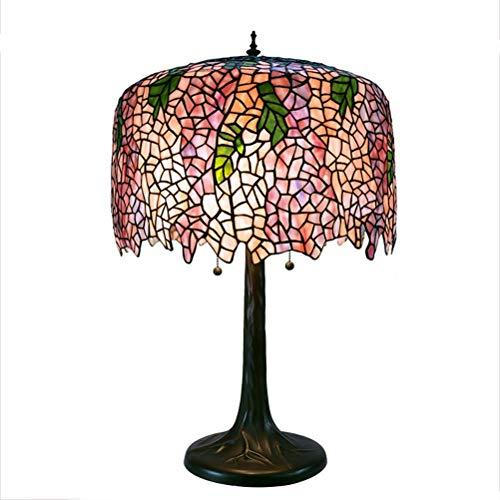 Lámpara de Mesa Tabla de luz de lámpara del Estilo de Tiffany ...