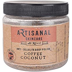 Artisanal Skincare Coffee Coconut Anti-Cellulite Body Scrub, 200 g