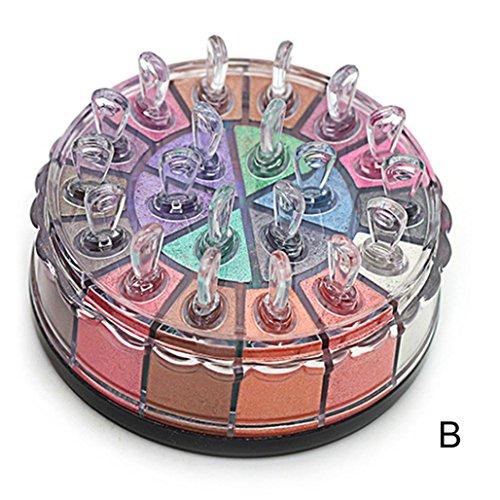 Beauté Shimmer Glitter Eye Shadow Powder Palette Matte Eyeshadow Cosmetic Makeup Kit (/2#)