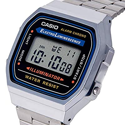 Casio Collection A168WA - Reloj Unisex para Adultos