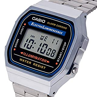 Casio Collection Unisex Adults Watch A168WA-1YES (B000LAKYW8) | Amazon price tracker / tracking, Amazon price history charts, Amazon price watches, Amazon price drop alerts