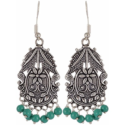 Indian Bollywood Jhumka Earrings For Women Gypsy Boho Vintage Bead Drop Earrings Boucle Doreille Femme 2019 Sufficient Supply Earrings Jewelry & Accessories