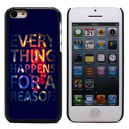 Graphic4You I Love You Message With Flowers Design Harte Hülle Case Tasche Schutzhülle für Apple iPhone 5C Design #2