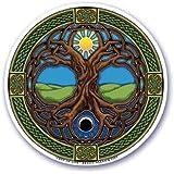"""Mandala Arte Ventana """"Árbol de la vida adhesivo"""