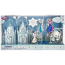 Disney Exclusive Frozen Elsa Mini Castle Playset