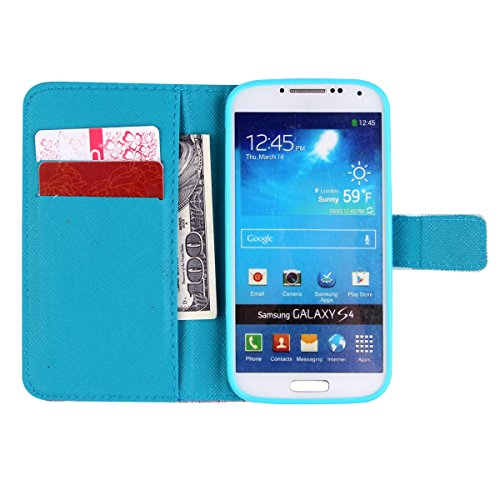 iPhone 6 4.7 Custodia in pelle, iPhone 6S Flip Cover, Felfy Elegante Luxury Blu Mare Design Portafoglio Flip Folio Pelle PU Leather Book Wallet Libro Cuoio Chiusura Magnetica Protettiva Stand Custodi Angelo Ragazza
