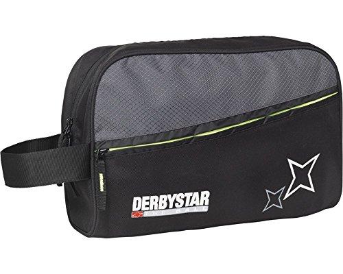 Derbystar Torwarthandschuhtasche, 32,5 x 23,5 x 10 cm, schwarz grau, 4556000290 -