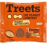 Treets - Peanut Butter Cups Milchschokolade mit Erdnussfüllung - 130g