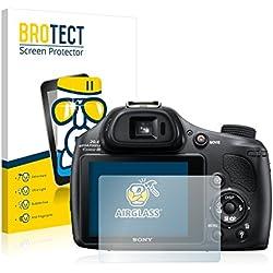 BROTECT Protection Ecran Verre compatible avec Sony Cyber-Shot DSC-HX400V - Protecteur Vitre 9H, AirGlass