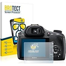 Sony Cyber-Shot DSC-HX400V Pellicola Vetro [AirGlass] Vetro Prottetivo Flessibile Proteggi Schermo