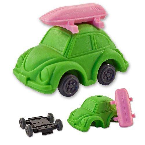 iwako-verde-vw-escarabajo-tortuga-japonesa-de-coches-borrador