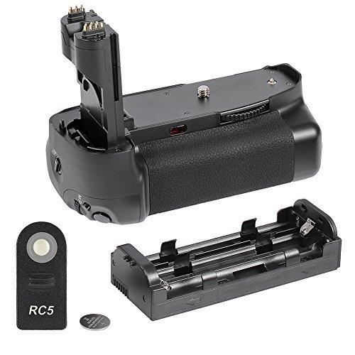 Neewer® Vertikaler Batteriegriff mit LCD-Display und IR-Fernbedienung für Canon EOS 7D SLR-Digitalkamera wie Canon BG-E7