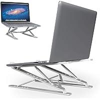 M Timmono Support Ordinateur Portable, Support PC Portable Ventilé,Laptop Stand Réglable Ergonomique pour MacBook Air…