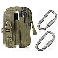 YCNK per esterni, multiuso, Molle Tactical EDC Utility Gadget cintura in vita con 2 anelli a D, LocksArmy, colore:
