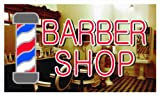 bb005 Barber Shop Pole Banner Shop Sign