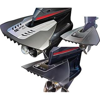 Flosse Stabilisator SE Sport 200 8-40 PS, Hydrofoil 200, grau