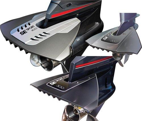 Flosse Druckstange Se Sport 2008–40CV, grau (Bootsmotoren Aussenborder 40 Ps)