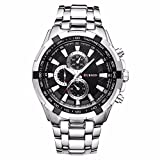 Curren Analogue Black Dial Men's Watch c...