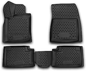 Element Exp Nlc 3d 24 09 210 3d Passgenaue Premium Antirutsch Gummimatten Fußmatten Jeep Grand Cherokee Iv Wk2 2011 2020 Schwarz Passform Auto