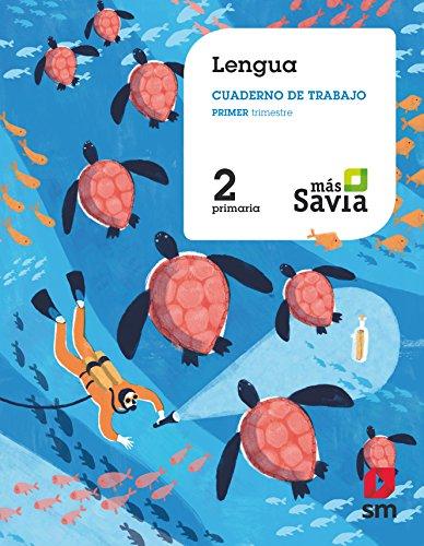 Cuaderno de lengua 2 primaria, 1 trimestre más savia