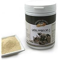 Grünlippmuschelpulver Neuseeland Muschel Extrakt Premium Qualität für Hunde und Katzen 500g Dose