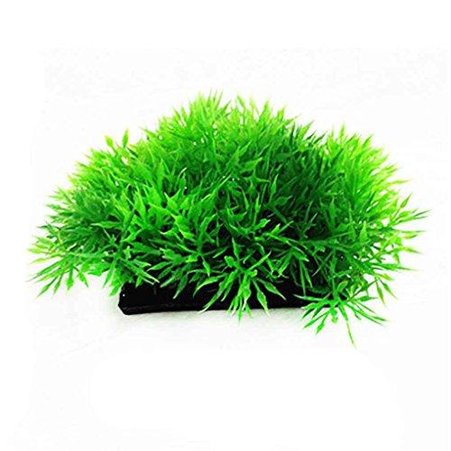 Desconocido Plantas de Hierba Artificial de Agua de plástico bajo el Agua del Acuario Ornamento
